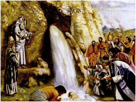 Moses at Horeb