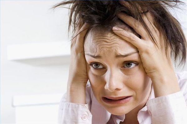 Suffer woman