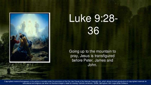Luke traNSFIGURE