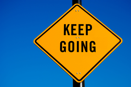 Keepgoingsign