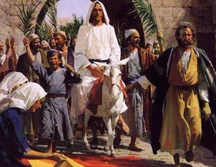 Jesus Palm Procession